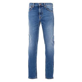 Nudie Jeans Co Lean Dean Slim Fit Jeans - Indigo Exile