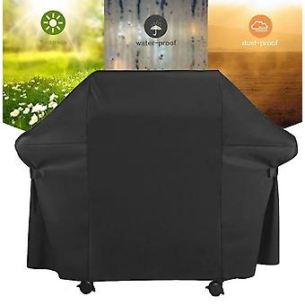 Barbecue Grill Cover Outdoor Garden Dust Cover 210d Oxford Material