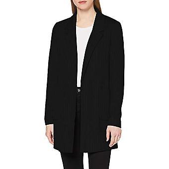 Kun 04.899.32.5004 T-skjorte Kurzarm jakke, svart (svart svart), liten (en størrelse: 36) kvinne