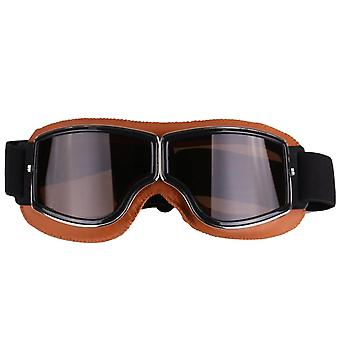 Retro style vintage motorcycle goggles helmet protective eyewear for outdoor sports
