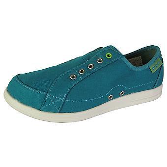Crocs Womens Lopro Laceless Sneaker Slip Op Schoenen