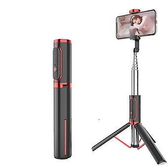 Κόκκινο τρίποδο ραβδί selfie bluetooth, φορητό ασύρματο ραβδί selfie για το μήλο az6679