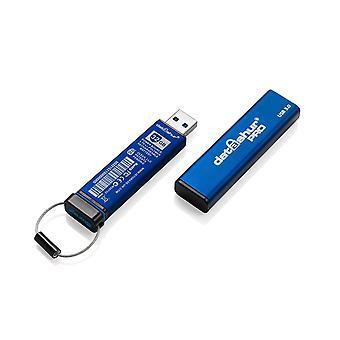 iStorage datAshur Pro USB3 256 bits 4 Go