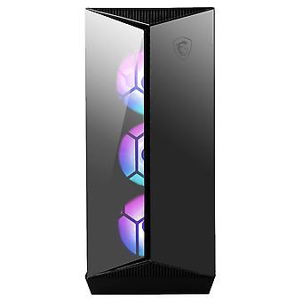 MSI MPG Gungnir 110R Mid-Tower ARGB Gaming Case - Black Tempered Glass