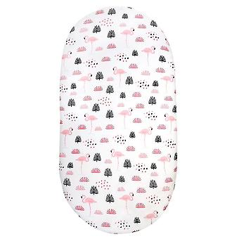 new c-1pc super stretchable and universal fit bassinet mattress sheet cover sm17822