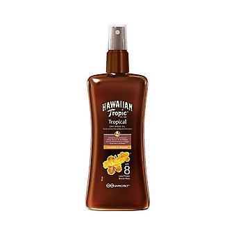 Protective Oil Coconut & Papaya Hawaiian Tropic Spf 8 (200 ml)