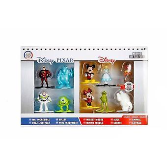 Disney Pixar 10 x Nano Diecast Figuras Pack 1 Jada 84424