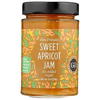 Gute gute Marmelade süße Aprikosen Kf, Fall von 6 X 12 Oz