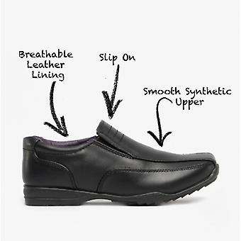 US Brass Custer Plain Casual Shoes Black