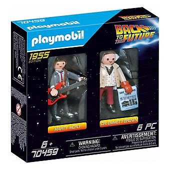 Playset Back to the Future : Marty Mcfly & Dr. Emmett Brown Playmobil 70459 (6 pcs)