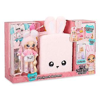 Playset Na! na! na! Surprise Backpack Bedroom 3-in-1 Rabbit Pink