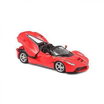 Burago Ferrari Metal Car Aperta Red Scale 1 / 24th