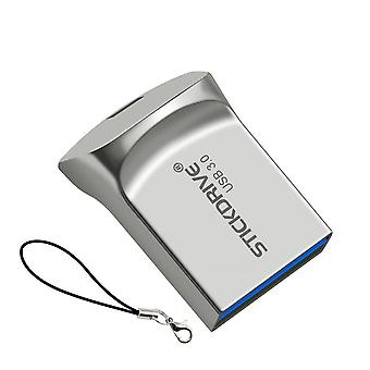 USB 3.0 Mini Flash Laufwerke Metall USB-Stick 64GB Schlüsselring Pendrive USB Flash Stick Speicherkarte 64GB