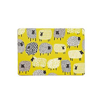 Ulster Weavers Dotty Sheep Cork Wipe-Clean 4 Pack Table Setting  Placemats