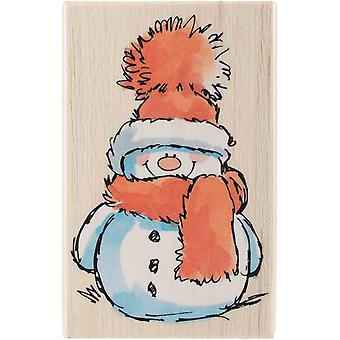 """Penny Black Mounted Rubber Stamp 2.5""""X3.75"""" - Snowy"""
