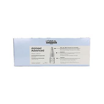 Anti-Chute de Cheveux Ampoulles Expert Aminexil Advanced L'Oréal Professionnel Paris (42 uds)