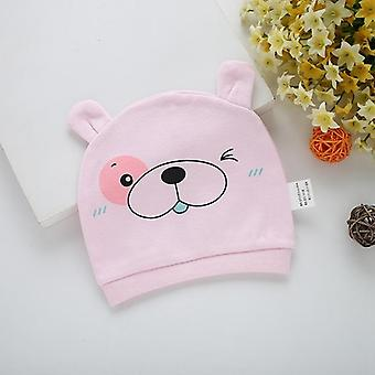 Sombreros y gorras de bebé estampados de algodón para accesorios de bebé recién nacido de 0 a 3 meses