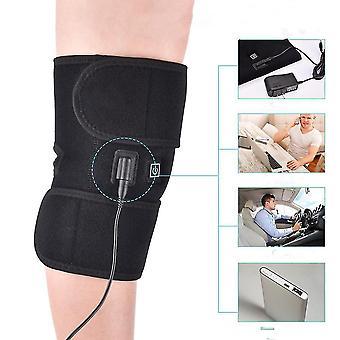 Joelheiras de aquecimento infravermelho suportam joelheira para artrite Terapia térmica Envolta de Massagem protetora do joelho
