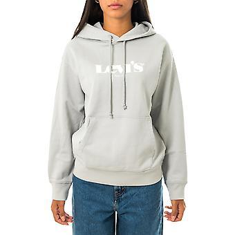Felpa donna levi's graphic standard hoodie 18487-0007