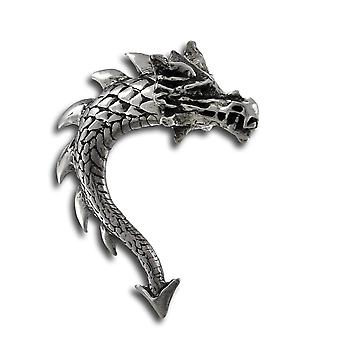 Alchemy Gothic Tor Dragon Double Sided Stud Earring