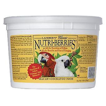 Lafeber Classic Nutri-Berries Macaw & Cockatoo Food - 3.5 lb Bucket