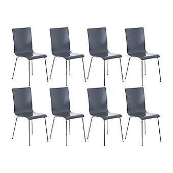 Esszimmerstuhl - Esszimmerstühle - Küchenstuhl - Esszimmerstuhl - Modern - Grau - Metall - 43 cm x 47 cm x 87 cm