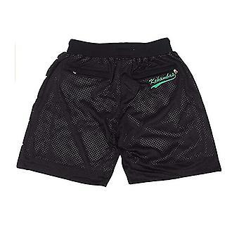 Men's Space Jam Movie Basketball Shorts Outdoor Sport Sandbeach Pants Stitched