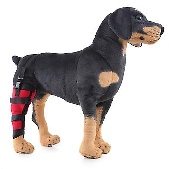 Mimigo Hund Rechtes Hinterbein Bandage Unterstützung Hundepfote Haustiere Schulter schützt Wunden für Heilungen Verhindert Verletzungen Verstauchungen, Arthritis