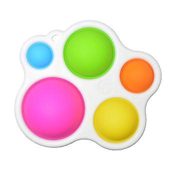 Baby Eenvoudige Sensorische Speelgoed, Brain Teaser voor peuters, vroeg educatief speelgoed
