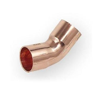 Pipe Fitting Bow Elbow Copper Solder Water System Installation 45deg Angle