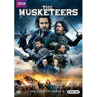 Musketeers: Season 3 [DVD] USA import