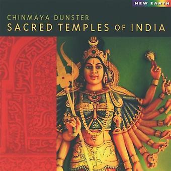 Chinmaya Dunster - Sacred Temples of India [CD] USA import