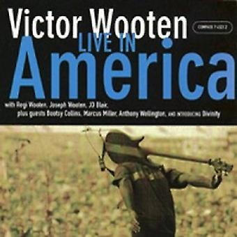 Victor Wooten - Live in America [CD] USA import