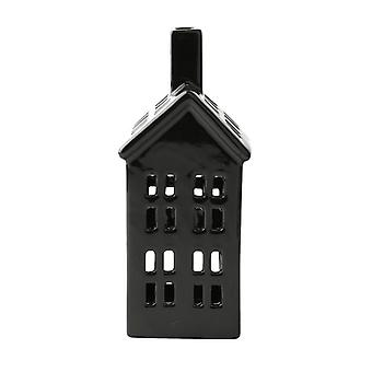 KJ Collection Black House Figure Medium