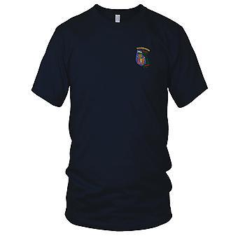 Força-tarefa da Marinha 115 vigilância costeira dos EUA força - guerra do Vietnã militar Patch Bordado - Mens T-Shirt