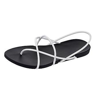 Ipanema med Starck sak G Womens Flip Flops / sandaler - svart och vitt