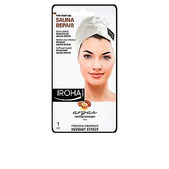 Iroha Hair Mask Sauna Repair Argan Instant Effect 1 Use For Women