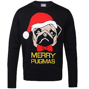 Christmas Shop Adults Merry Pugmas Jumper