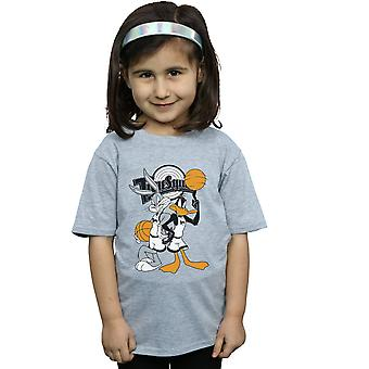 Space Jam Girls Bugs And Daffy T-Shirt
