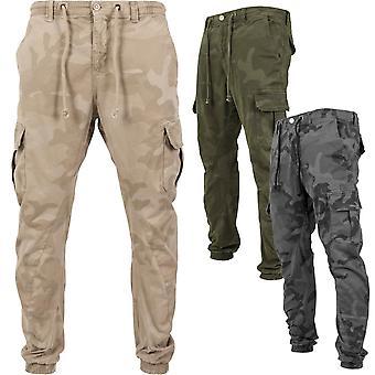 Urban classics - Camo cargo jogging army pants