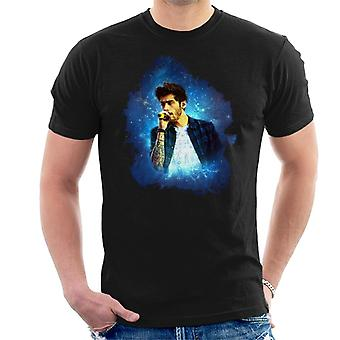 Zayn Malik z jednym kierunku Murrayfield Stadium 2014 Men's T-Shirt