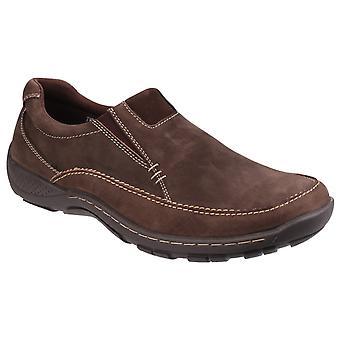 Cotswold mens Twyning slip op schoen
