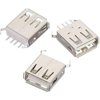 USB-type En stående WR-COM-stik, lodret lodret WR-COM 614004135023 Würth Elektronik Indhold: 1 stk(er)