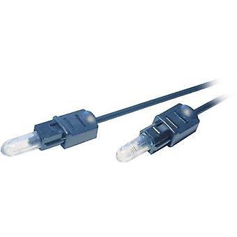 Ridere Professional Toslink cavo Audio digitale [1 x Toslink spina (ODT) - 1 x Toslink spina (ODT)] 3m nero