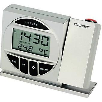 TFA Dostmann 98.1009 98.1009 Radio Projection clock Digital Silver