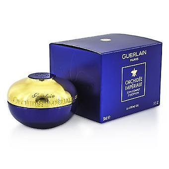 Guerlain Orchidee Imperiale استثنائية الرعاية الكاملة كريم جل-30 مل/1 أوقية