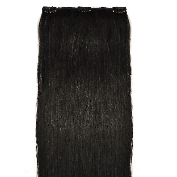 #1B Natural Black - Clip in Hair Piece - #1b - Natural Black