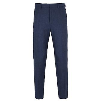 Spodnie Slim Fit kolor niebieski BOSS Pirko