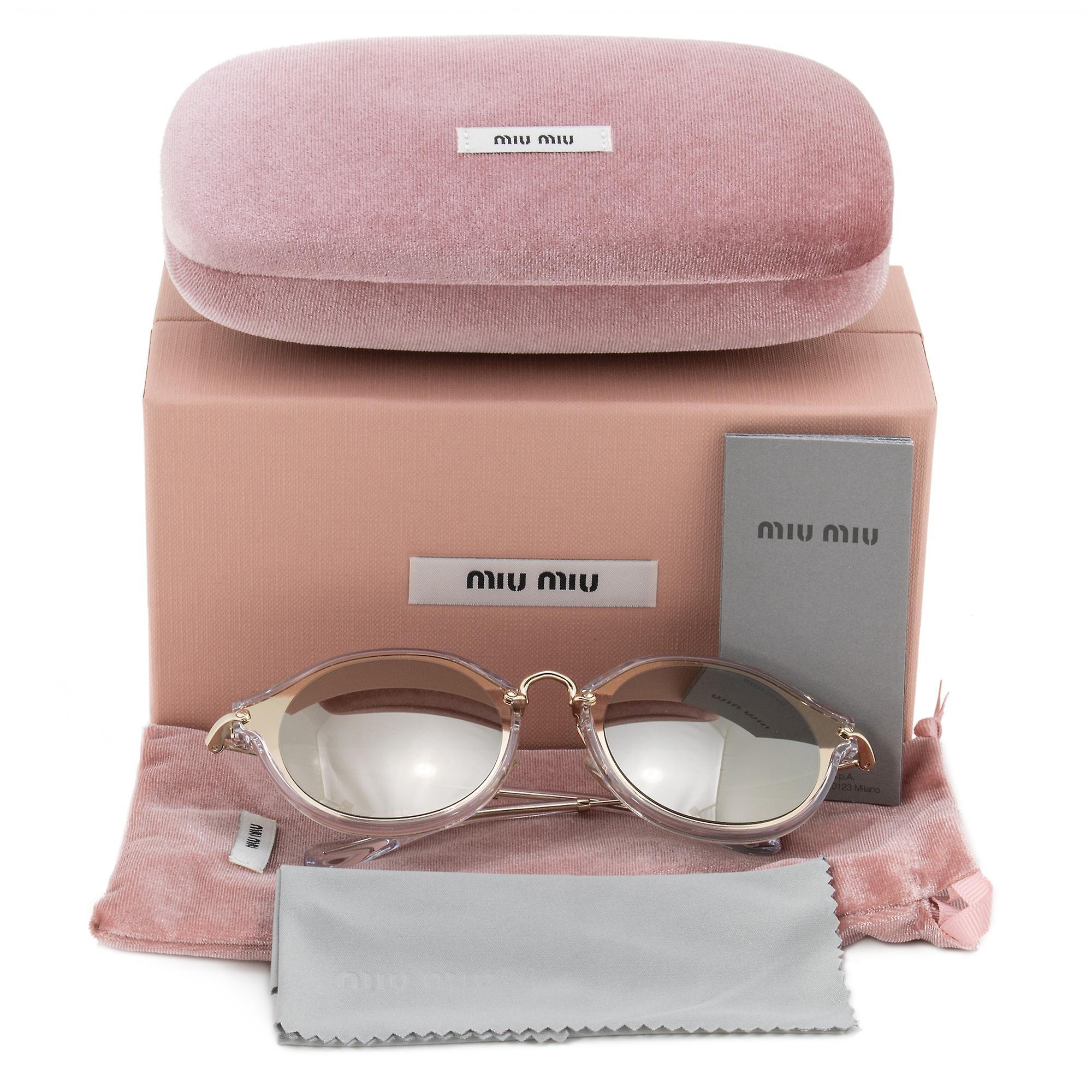 Miu Miu Round Sunglasses SMU51SS ZVN1C0 49