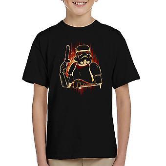 Original Stormtrooper Dark Flare Kinder T-Shirt